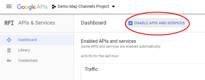 Google Maps API Key Reference